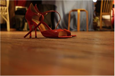 Red Dance Shoes